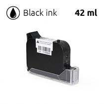 Black Ink Cartridge for SoJet V1H Handheld Printer, 42 ml, Solvent-Based