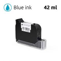 Blue Ink Cartridge for SoJet V1H Handheld Printer, 42 ml, Solvent-Based