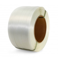 """1 1/4"""" x 820' Heavy Duty Composite Cord Strapping Roll, 3300 lbs. Break Strength, 8 x 8 Core"""