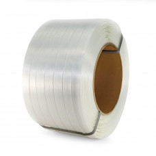 """1"""" x 1312' Heavy Duty Composite Cord Strapping Roll, 1730 lbs. Break Strength, 8"""" x 8"""" Core"""