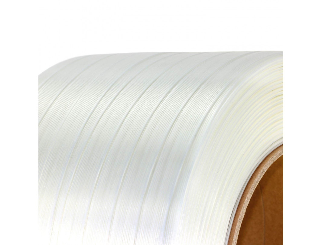 "3/4"" x 1640' Composite Cord Strapping Roll, 1375 lbs. Break Strength, 8 x 8 Core 1"