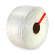 "3/4"" x 1640' Heavy Duty Woven Cord Strapping Roll, 1830 lbs. Break Strength, 6"" x 3"" Core"
