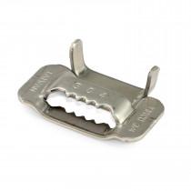 """3/4"""" Open 304 Stainless Steel Ear-Lokt Buckle"""