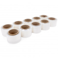 """Pack of 10 Replenishment Mini Rolls of 80 Gauge (3"""" and 5"""" x 1000')"""