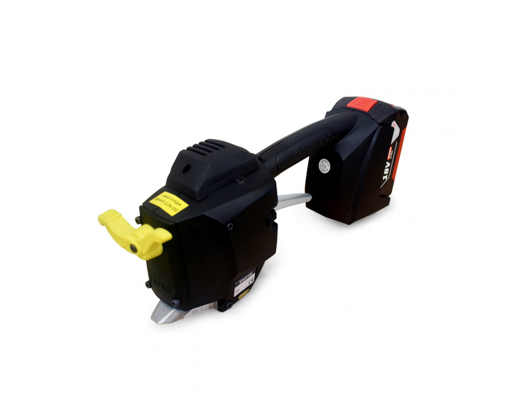 "TEK-25 Battery Welder for Poly/PET Strapping, Bosch Charger and Battery Included up to 1 1/4"" Strap Width"