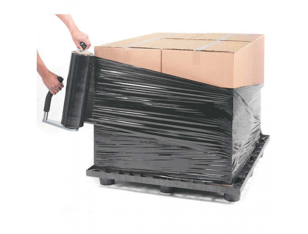 W-410 HD Stretch Wrap Dispenser with Adjustable Tension and Stretch Roll Size, Strong Construction 4
