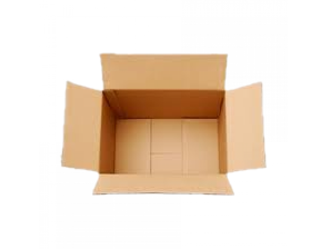 """12""""L x 12""""W x 3""""H Medium Cardboard Box for Moving, Shipping or Storage, 100% Recyclable, Brown 1"""