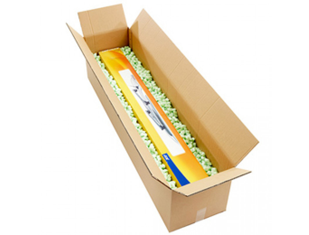 """18""""L x 6""""W x 6""""H Long Box for Moving, Shipping or Storing Items, 100% Recyclable, Brown 1"""