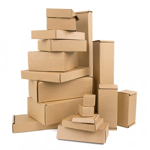 Brown Corrugated Boxes